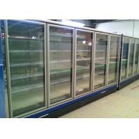 Quality Double Door Multideck Display Fridge Refrigerator For Dairy And Sausages wholesale