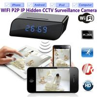 Buy cheap T8S 720P Alarm Clock WIFI P2P IP Spy Hidden Camera Home Security CCTV Surveillan from wholesalers