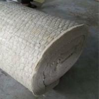 Cheap Rock wool blanket insulation with wire mesh for oven insulation for sale