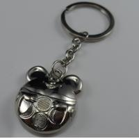 Cheap fashion metal bear keychain personalized for sale