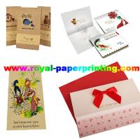 Cheap customize die cutting and colorful postcard/wedding card/thank you  card for sale