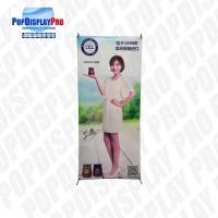 China Wood Permanent Display X Banner Promotion Standee Character 5 Years Serving Time on sale