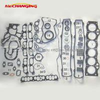 Cheap For TOYOTA CROWN 1GGE GX81 Auto Parts Full set Engine Rebuilding Kits Engine Gasket 04111-70071 04111- for sale