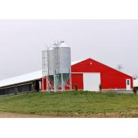 Cheap Pre Built Commercial Steel Structure Poultry House Chicken Rearing Structures for sale