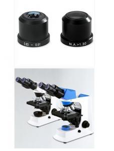Precise Laboratory Biological Microscope Smart Dry / Wet Oil Darkfield Condenser