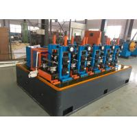 China High Speed ERW Ms Pipe Forming Machinery , tube mill equipment Automatic PLC Control on sale