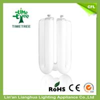 High Efficiency U Shaped Fluorescent Light Bulbs Halogen Glass Tube Of Energysavingledlightbulb