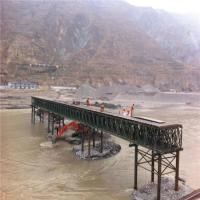 Cheap Easy Assemble Floating Pontoon Bridge Emergency Use Temporary Steel Bridge for sale