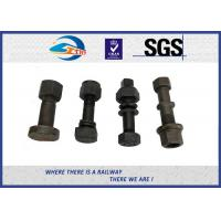 Cheap ISO Railway Bolt Fish Bolt With UIC , BS , ASTMA , ASCE International Standards for sale