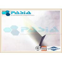 China Abrasion Proof Aluminum Honeycomb Core Panels For Office Honeycomb Interior Doors on sale