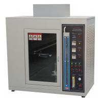 Cheap Fire Flame Plastic Burning Test Chamber UL 94 Standard AC 220V 50Hz for sale
