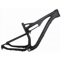 Quality Toray 700 29 Mtb Full Suspension Frame , Carbon Fiber Bicycle Frame For Cycling Race wholesale