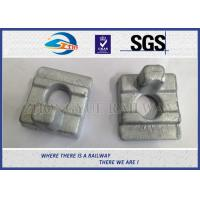 Quality Customized S-13 Rail Clips With Material 60Si2MnA HDG Surface Treatment Coating wholesale