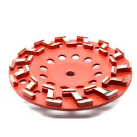 China 7 Inch Metal Bonded Diamond Grinding Wheel For Concrete Grinding on sale