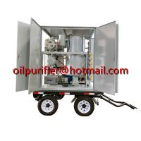 Cheap ZYD-M Mobile Trailer Transformer Oil Filtration Plant,movable insulation oil purifier with car wheels,Cable Oil purifier for sale