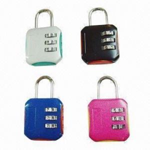 Cheap 4-digit Combination Padlocks, Measures 81x43x21mm for sale