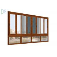 Cheap Easy Installment cheap aluminium sliding windows With Double Glazed Tempered Glass wholesale
