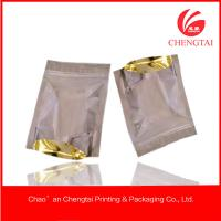 Cheap General use Resealable Stand Up Packaging Bags / Pouches One side transparent for sale