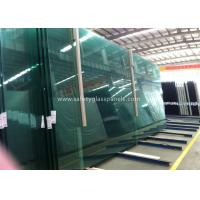 Cheap Fire Proof Safety Laminated Glass Curtain Wall / Stairs Safety Glass Panels for sale