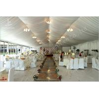 Cheap 350 Seater Wedding Reception Marquee Banquet Tent Rental With Clear Glass Walls for sale