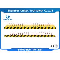 Buy cheap IP67 Heavy Duty Tyre Spike Barrier For Road , One Way Automatic Spike Barrier from wholesalers