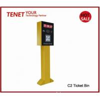 Cheap Smart car park terminal for entrance or exit parking system , yellow green colors for sale