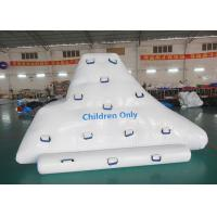 Buy cheap Inflatable iceberg with factory Kids size climbing mountaion for water game from wholesalers