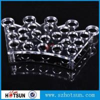 Cheap Factory directly acrylic shot glass tray,most popular product clear acrylic shot glass tray ,acrylic serving tray for sale