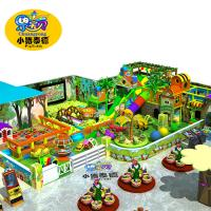 Residential Indoor Playground Equipment , Jungle Theme Indoor Play Area Equipment