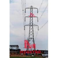Buy cheap 345KV double circuit lattice tower from wholesalers