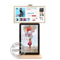 Buy cheap T- Style Android 5.1 Touch Screen Wireless Digital Signage Camera LCD Advertising Totem from wholesalers