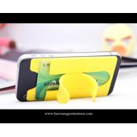 Cheap fashion Design slap band silicone slap wristband with OEM logo for phone holder for sale