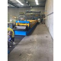 China Heavy Duty Storage Rack Metal Roll Forming Equipment 8-15 M / Min For Warehouse on sale