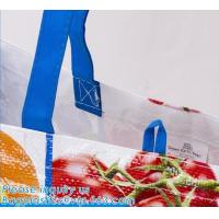 Custom Huge Luggage PP Woven Bag With Zipper Lock,PP Woven Shopping Bag,Factory