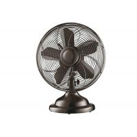 12 Inch Vintage Electric Fan With Switch Control 3 Aluminium Blade 60Hz