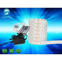 Cheap SMD 5050 LED Strip Light 12V DC , Waterproof Flexible LED Strip CE ROHS Approved for sale