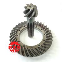 Cheap 20CrMnTi Skew Hypoid Hypoid Spiral Bevel Gears Ratio 7*34 Transmission System wholesale