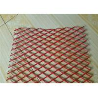 Cheap Colorful Expanded Stainless Steel Mesh with Firm Structure Diamond Hole for sale