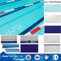 China 244X119X9MM china wholesale prices above ground swimming pools pool on sale