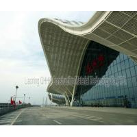 Cheap UV Resistant Prefabricated Steel Structures Large Span Prefab Bus / Train Station for sale