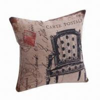 Cheap Cushion for Sofa/Car Set, with Villatic Style, Antique-printed Pillow for sale
