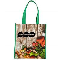 China Large Laminated Non Woven Polyester Tote Bags Tear Resistant For Gift Grocery on sale