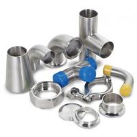 Buy cheap Dairy Welding Tri Clamp Stainless Steel Sanitary Pipe Fittings Corrosion Resistance from wholesalers