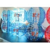 Cheap Durable Transparent Inflatable Bubble Soccer 1.5 Meters 100% TPU 1mm Thickness for sale
