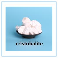 China High whiteness cristobalite calcined silica flour for engineer ceramics on sale