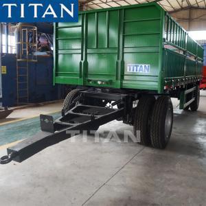 Cheap 2 axle livestock drawbar trucks and trailers for sale-TITAN Vehicle for sale