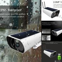 Cheap 4G Solar Wifi Security Camera 1080P 2 Mega Pixels Night Vision With IR Function for sale