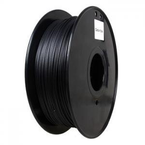 Flame Retardant Carbon Fiber 3d Printer Filament 1.75 / 3.0 Mm Black Color