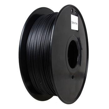 Quality Flame Retardant Carbon Fiber 3d Printer Filament 1.75 / 3.0 Mm Black Color wholesale