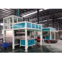 China OEM Pulp Egg Tray Making Machine , Automated Paper Pulp Moulding Machine on sale
